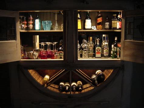 wall mounted bar cabinets for home best 25 liquor storage ideas on