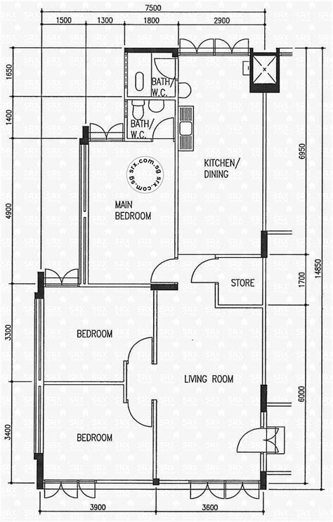 10 ave floor plans floor plans for ang mo kio avenue 10 hdb details srx