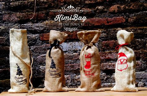 Pouch Goni burlap wine pouch kimibag indonesia