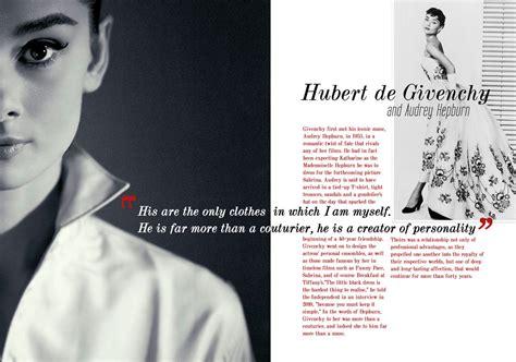 magazine layout wikipedia givenchy and audrey hepburn magazine layout by