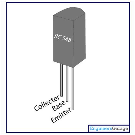 bc548 transistor pin description bc548 transistor datasheet transistor bc548 pinout engineersgarage