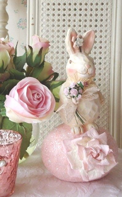 shabby chic easter 15 shabby chic easter decorations room idea holicoffee