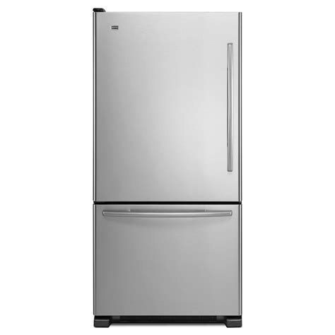 Refrigerator Door by Maytag Mb 21 9 Cu Ft Bottom Freezer Refrigerator Left