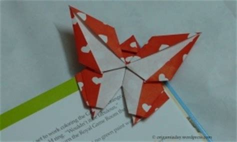 Butterfly Bookmark Origami - 17 best images about ja crafts on valentines
