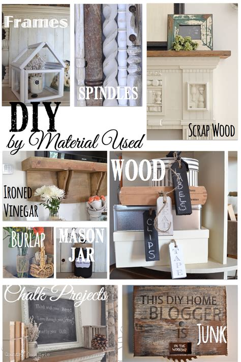 diy by material country design style