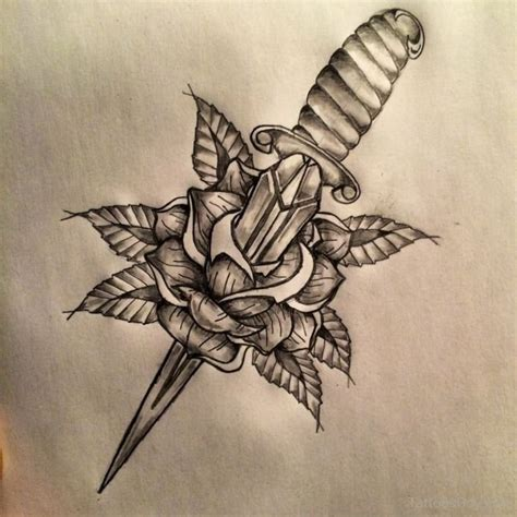 heart and dagger tattoo designs dagger tattoos designs pictures page 5