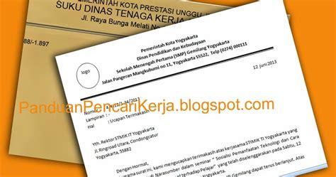contoh surat dinas jenis dan cara penulisannya