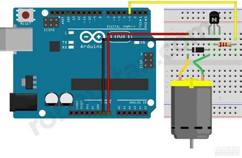 tvs diode dc motor arduino lesson 6 dc motor speed