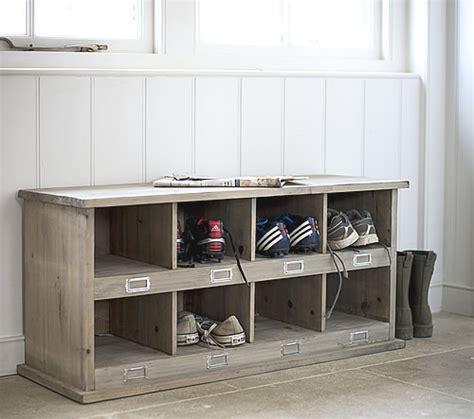 Ikea Mudroom Lockers chedworth shoe storage locker amp bench shoe cupboards