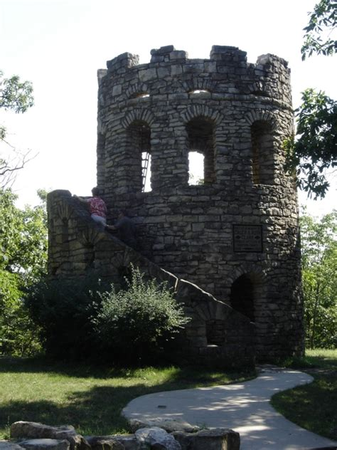 iowa city park winterset ia clark tower in winterset city park photo picture image iowa at