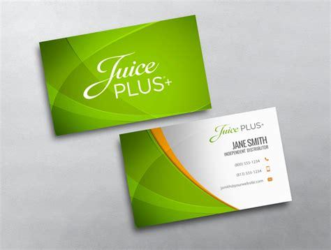 juice plus business cards template juice plus business card 06
