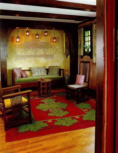 arts and crafts home interiors 61 best arts crafts interiors images on craftsman interior bungalows and