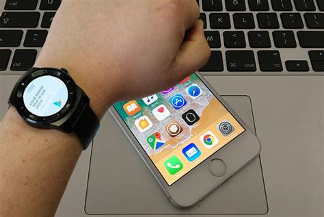 connect android smartwatch  iphone
