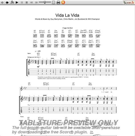 guitar tutorial viva la vida guitar guitar tabs viva la vida guitar tabs viva la at