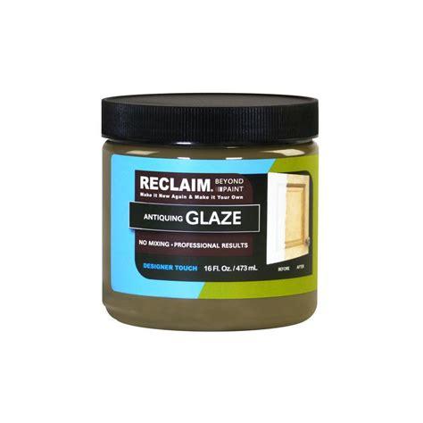 home depot paint glaze reclaim 1 pt antiquing glaze shop your way