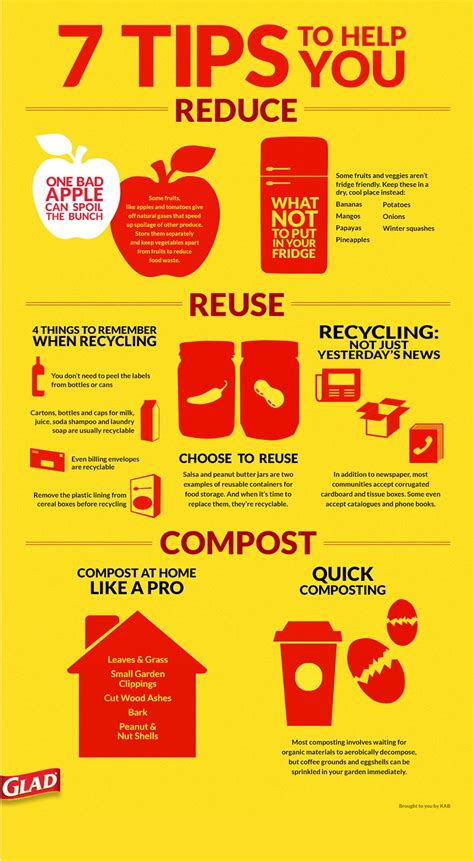 7 Tips On Recycling glad 174 waste in focus in partnership with keep america