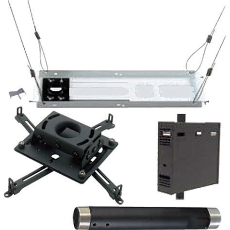 drop ceiling projector mount kit chief projector ceiling mount kit kitps012c b h photo