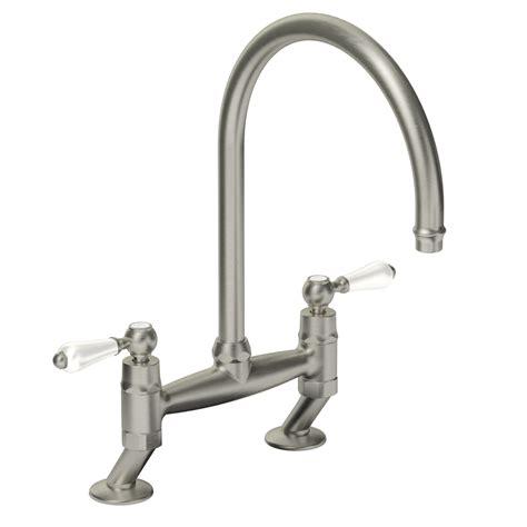 bridge taps kitchen sinks abode at1029 ludlow bridge kitchen tap sinks taps com