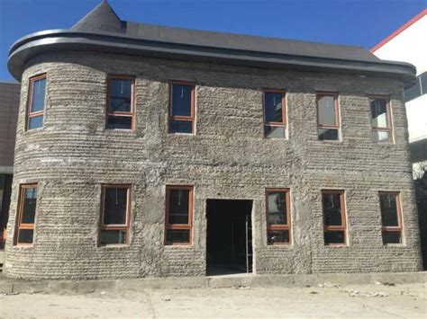 haus 3d drucker huashang tengda villa in 45 tagen aus beton gedruckt