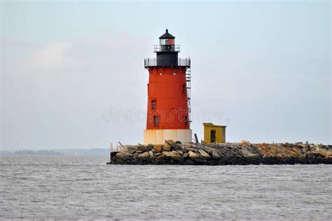 cape henlopen lights cape henlopen lighthouse stock photo image of breakwater