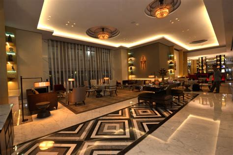 Hotel Lights by Keratonat The Plaza Exudes Luxury With Ge S Led Hotel