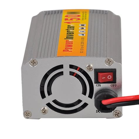 Ac Setengah Pk Inverter 150w dc 12v to ac 220v car power inverter w usb connector