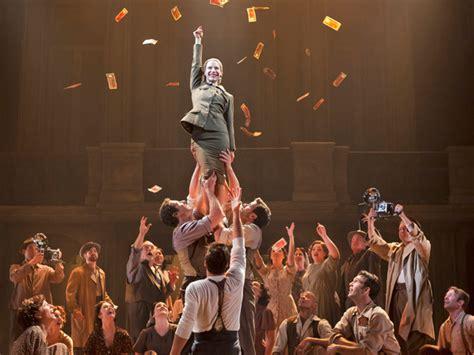 Broadway Box Office Gross by Broadway Grosses Evita Breaks Box Office Records