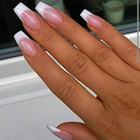 beauty 25 pattern acrylic nail tips french false nail art best 25 french tip nails ideas on pinterest french