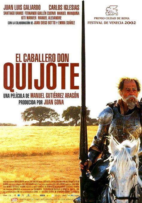 el caballero don quijote 8426356389 el caballero don quijote 2002 filmaffinity