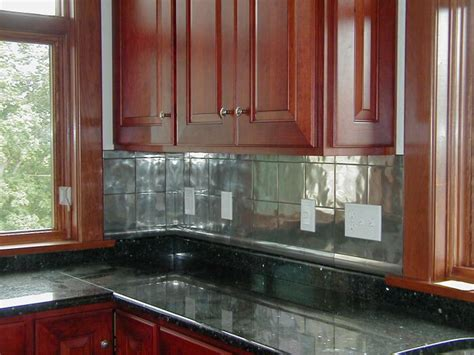 metallic kitchen backsplash inspirational backsplashes daveashton metallic tile backsplash