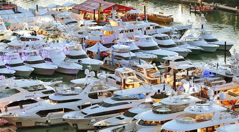 miami boat show venues miami yacht show to change venues in 2019 bluewater