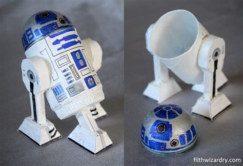 How To Make R2d2 Out Of Paper - filth wizardry r2d2 mini secret storage box from recycling