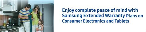 extended warranty  samsung home appliances samsung india