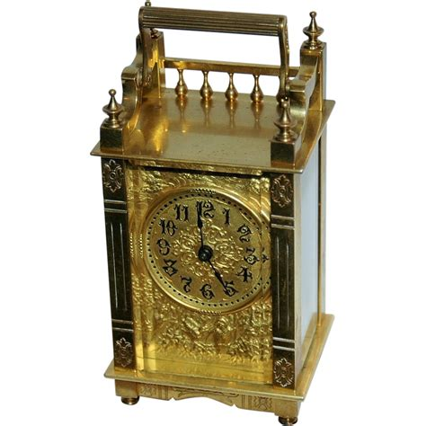 boston company antique boston clock co carriage clock from vrantiques on ruby