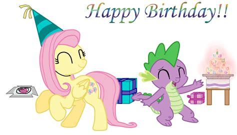 Mlp Fluttershy Happy Birthday   zygen mlp forums