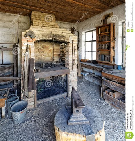 blacksmith s workshop and forge stock photo image 41873093