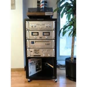 Vintage Audio Rack Marantz Vintage Rack Stereo System Primeaumusic