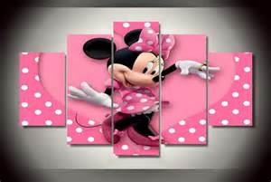 mickey and minnie mouse home decor minnie mickey mouse disney canvas wall art home decor by yinnons