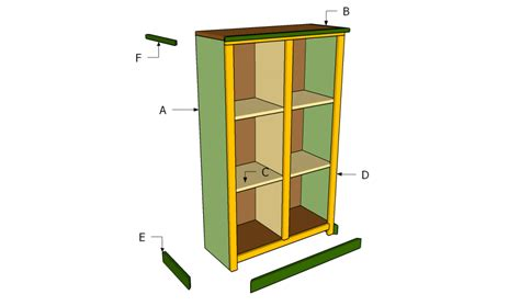 how to build a bookshelf howtospecialist how to build