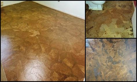 Decoupage Floors Diy - how to make brown paper bag flooring diy projects for