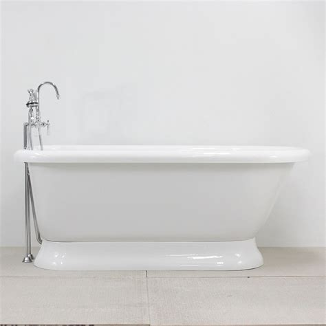 Pedestal Tub Hlflpd53fpk 53 Quot Hotel Collection Classic Pedestal Tub And