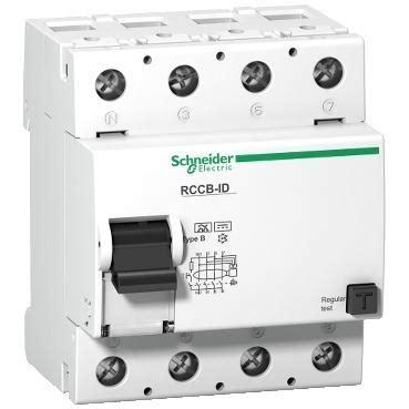 Schneider Electric Id Rccb 16252 residual current circuit breaker id rccb schneider
