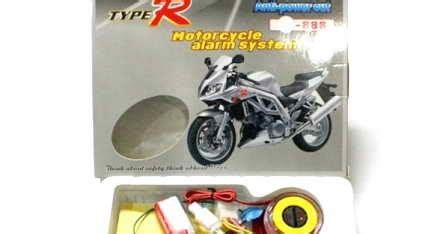 Alarm Anti Maling Untuk Sepeda Motor alarm anti maling sepeda motor dengan remote terbaik