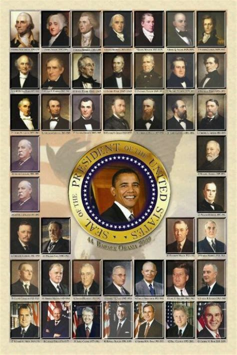 President S | all the presidents up to barack obama 44th president of
