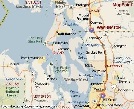 map of whidbey island whidbey island washington strayer travels more