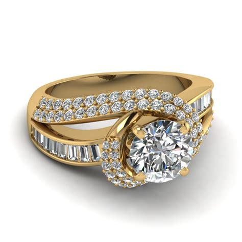 Wedding Rings Yellow And White Gold by Yellow Gold Engagement Rings Yellow Gold Engagement Rings