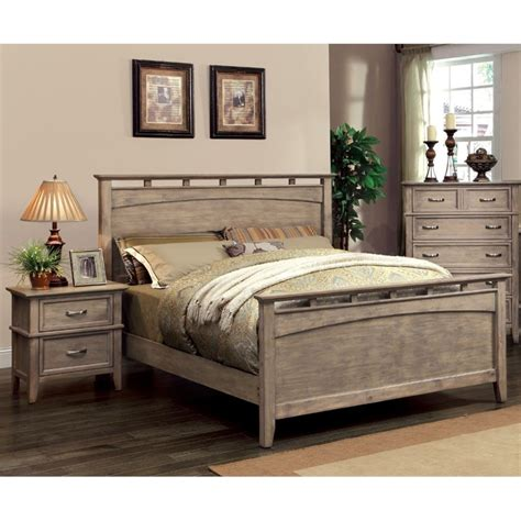 2 piece bedroom set furniture of america ackerson coastal 2 piece queen panel