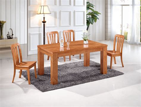 solid wood dining room furniture factory direct oak dining tables and chairs with a
