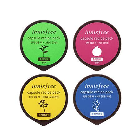Innisfree Capsule Recipe Packs innisfree capsule recipe pack 10ml ebay