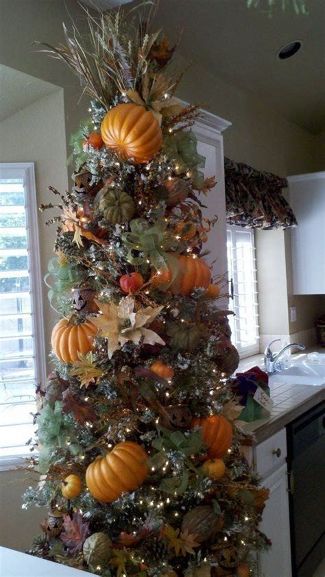 thanksgiving tree stolen from fb friend decorating